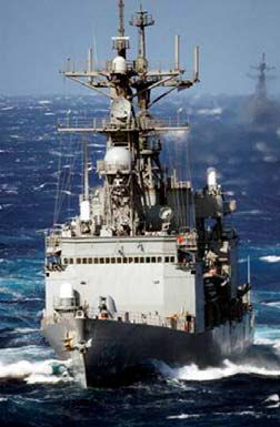 US Navy's Self Defence Test Ship (SDTS)